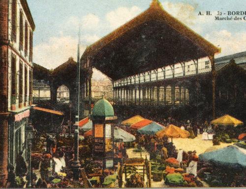 Marché des capucins à Bordeaux